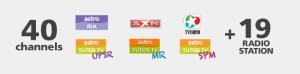 Astro IPTV Time Fibre Astro Family Pack